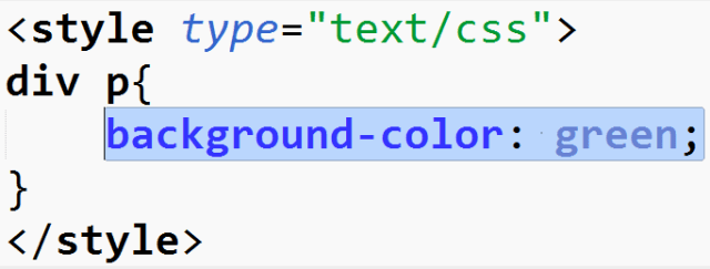 The background-color CSS property