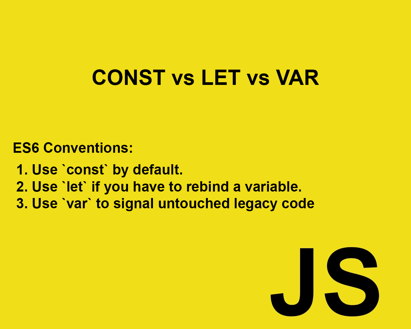 Introduction to JavaScript - Create a Variable: const