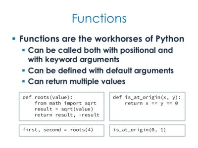 Learn Multiple Function Arguments in Python