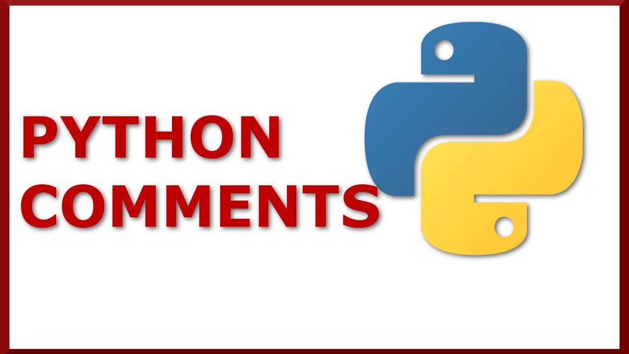 Adding Python Comments
