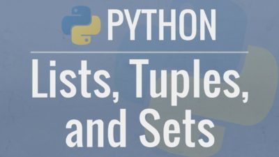 Learn about Python Sets (lists)