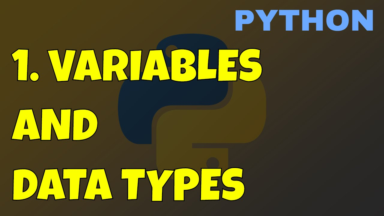Learn Python Variables and Types