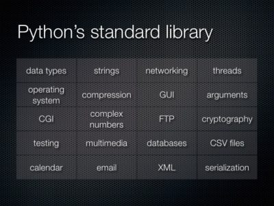 The Python Standard Library Ver 3.6.5
