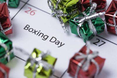 Boxing Day (regional holiday) - Milton Ontario Canada
