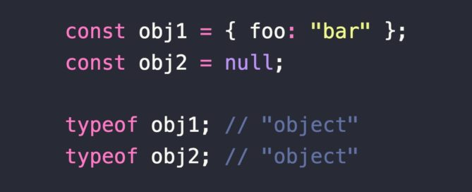 """Issues using typeof bar === """"object"""" to determine if bar is object?"""