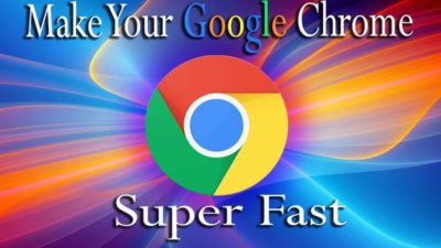 Make your Chromebook & Google Chrome run super faster