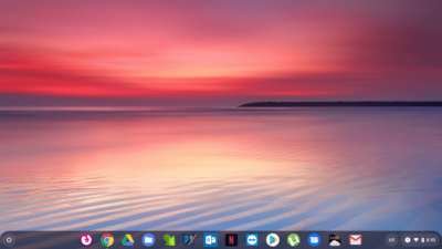 First up is the system tray — that dock-like bar of shortcuts at the bottom of your screen.