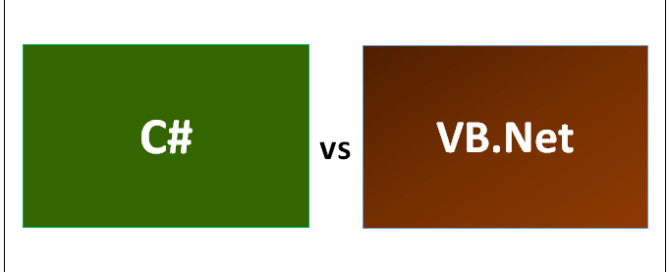 What is the difference between C# and VB.NET?