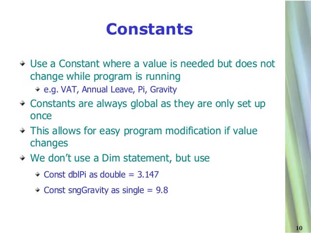 How to create a constant in VB.NET?
