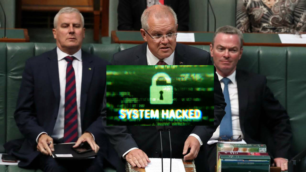 'Sophisticated state actor' hacks Australia's political parties months before election