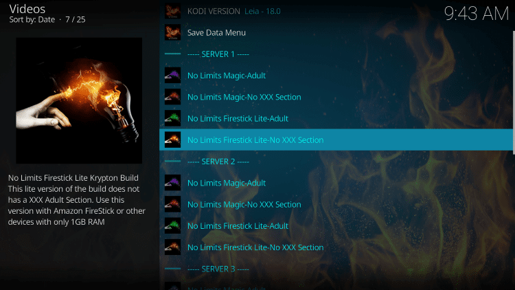 Kodi-04-2019 No Limits Wizard Magic Build for Kodi 18 Leia