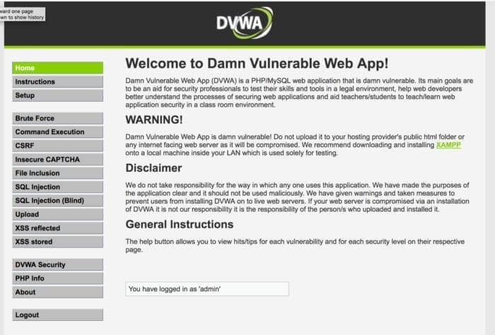 OWASP Broken Web Apps Project