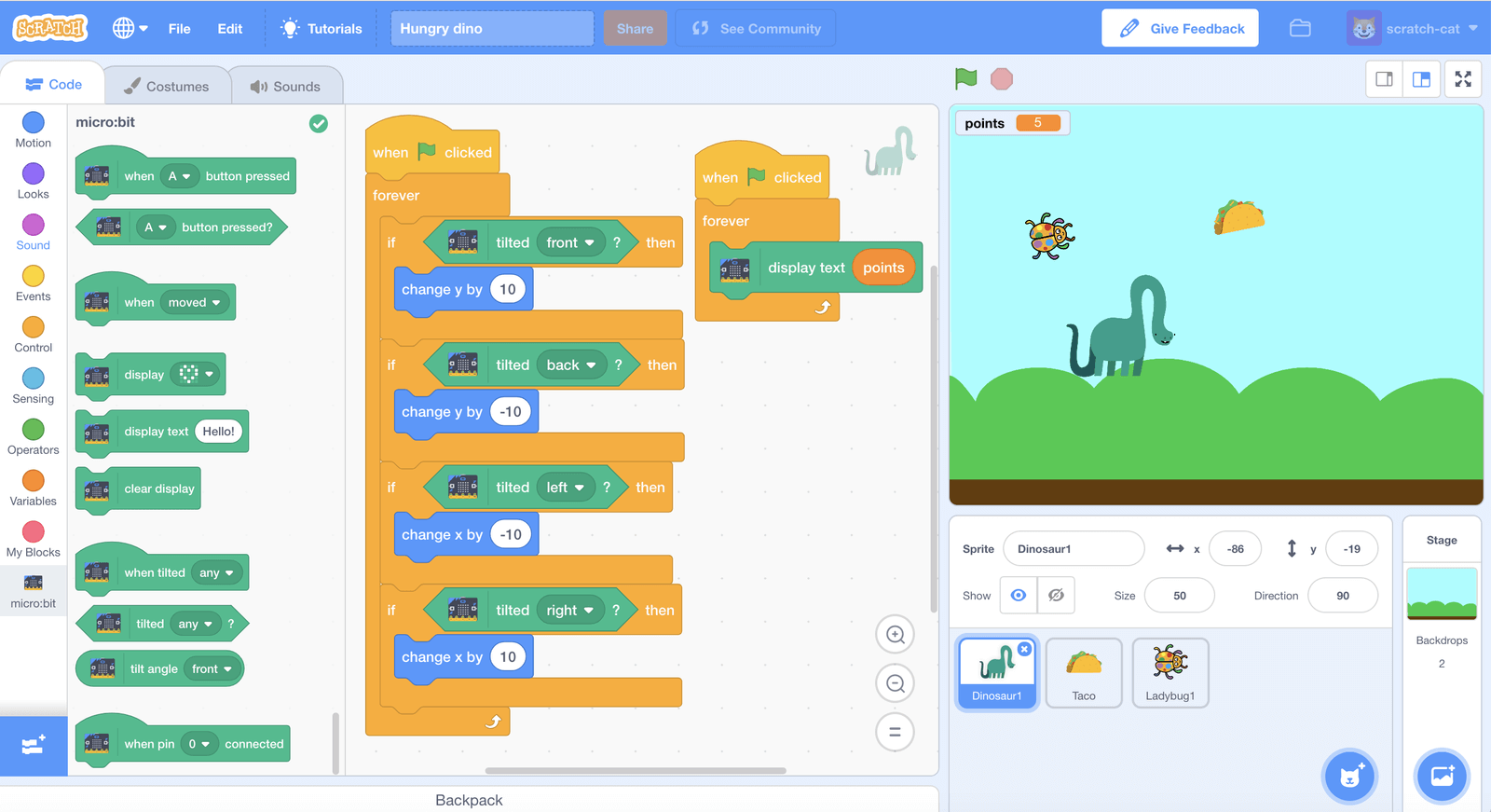 Introduction to Scratch - Lifelong Kindergarten Group