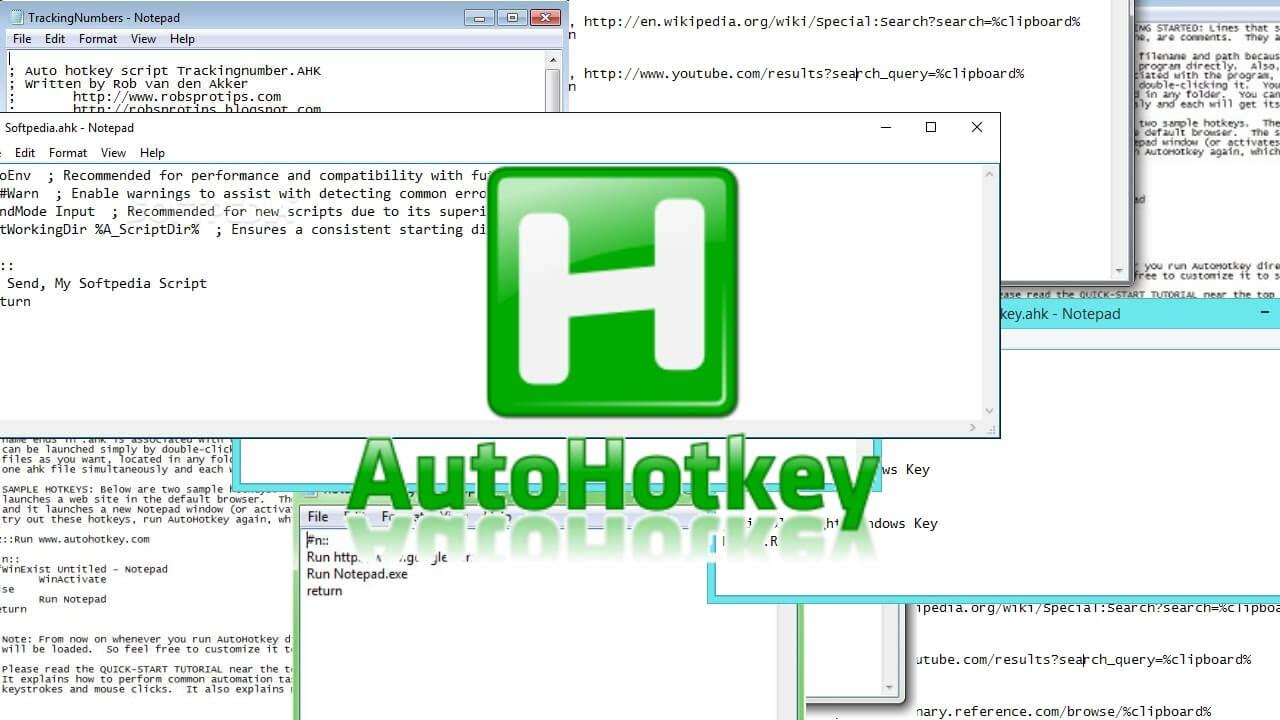 Macro Automation Software for Windows - AutoHotkey