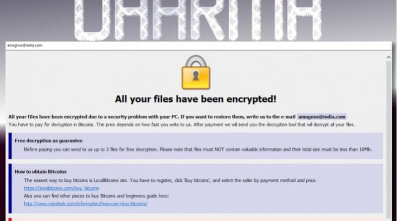 Dharma Ransomware Uses Legit Antivirus Tool To Distract Victims