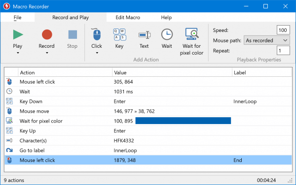 Best free Macro Automation software for Windows 10 - Macro Recorder