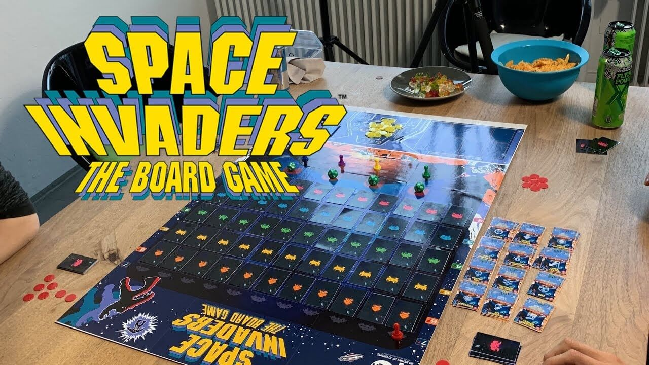 'Space Invaders' The Board Game Celebrates 40 Years Of The Arcade Classic