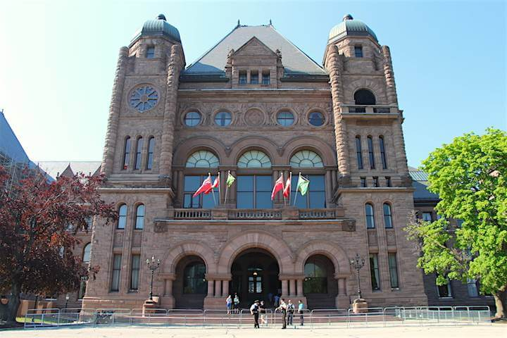 Ontario government moving more services online changing procurement process