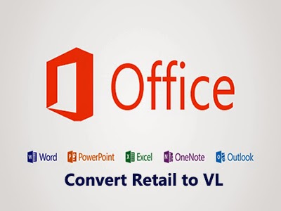 Convert Office 2016/ 2019 /O365 ClickToRun installation licensing from Retail to Volume